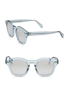 Oliver Peoples 48MM Boudreau Transparent Glasses
