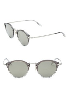 Oliver Peoples 49MM Round Sunglasses