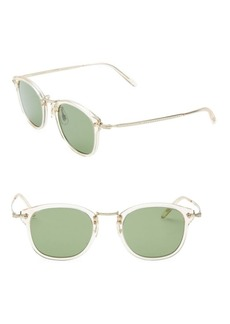 Oliver Peoples 49MM Square Sunglasses