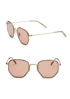 Oliver Peoples 50MM Geometric Sunglasses