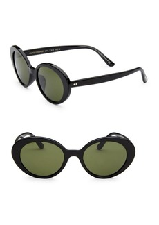 Oliver Peoples 50MM Parquet Oval Sunglasses