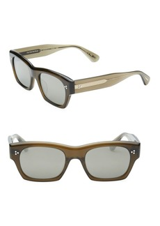 Oliver Peoples 51MM Square Sunglasses