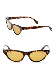 Oliver Peoples 53MM Zasia Cat Eye Sunglasses