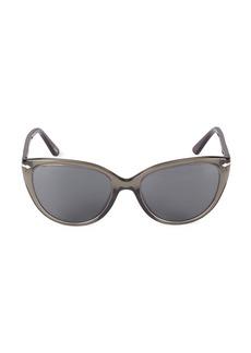 Persol 55MM Cat Eye Sunglasses