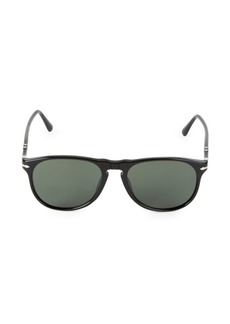 Persol 55MM Wayfarer Sunglasses