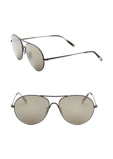 Oliver Peoples 58MM Round Sunglasses