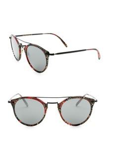 Alain Mikli x Oliver Peoples Palmier Red & Black Sunglasses