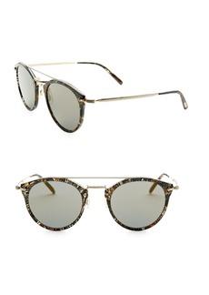 Alain Mikli x Oliver Peoples Remick Acetate & Metal Sunglasses