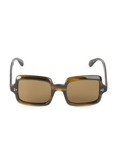 Oliver Peoples Avri 50MM Square Sunglasses