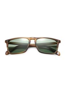 Oliver Peoples Bernardo Square Sunglasses/Cocobolo