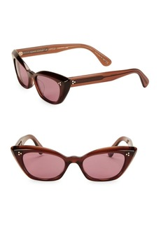 Oliver Peoples Bianka 51MM Cat Eye Sunglasses