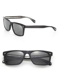 Oliver Peoples Brodsky 55mm Square Sunglasses