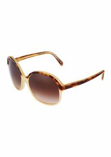 Oliver Peoples Casandra Oversized Plastic Sunglasses