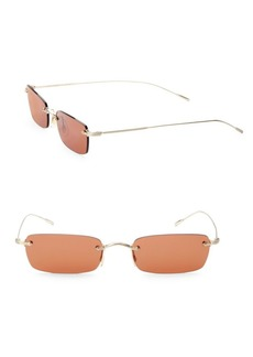Oliver Peoples Daviegh 54MM Rectangle Sunglasses