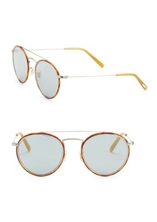 Oliver Peoples Ellice 50MM Aviator Sunglasses