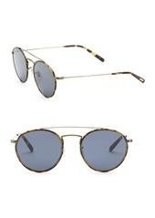 Oliver Peoples Ellice 50MM Oval Sunglasses