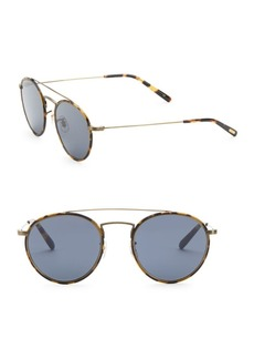 Oliver Peoples Ellice 50MM Oval Sunglasses