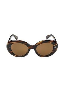 Oliver Peoples Errissa 52MM Oval Sunglasses