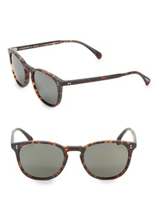 Oliver Peoples Finley 51MM Mirrored Sunglasses