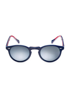 Oliver Peoples Gregory Peck 1962 47MM Phantos Sunglasses