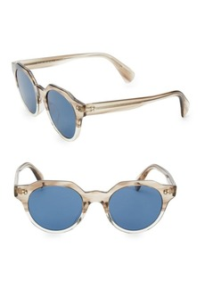 Oliver Peoples Irven 50MM Military Sunglasses