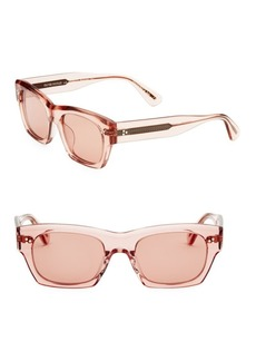 Oliver Peoples Isba 51MM Square Sunglasses