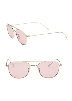 Oliver Peoples Kress 49MM Square Sunglasses