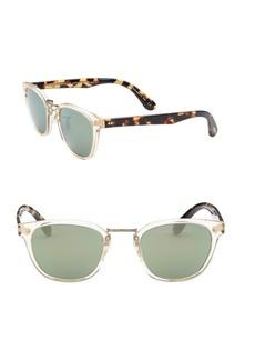 Oliver Peoples Lerner 50mm Wayfarer Sunglasses