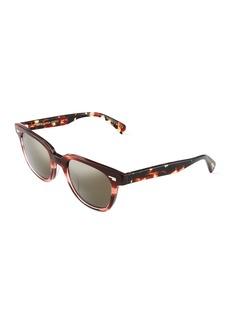 Oliver Peoples Masek 51 Square Acetate Tortoiseshell Sunglasses