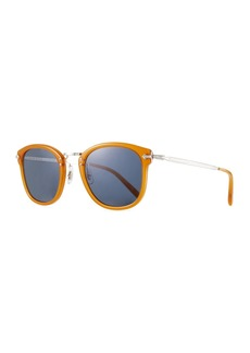 Oliver Peoples Men's OP-506 Acetate/Metal Sunglasses