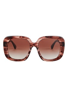 Oliver Peoples Nella Oversized Square Sunglasses