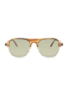 Oliver Peoples Nilos 53MM Square Sunglasses