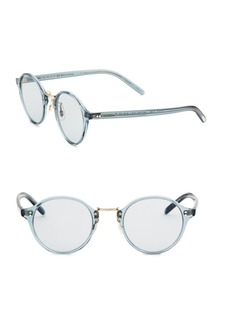Oliver Peoples 1955 48MM Round Sunglasses