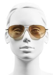 Oliver Peoples 'Benedict' 59mm Gradient Aviator Sunglasses