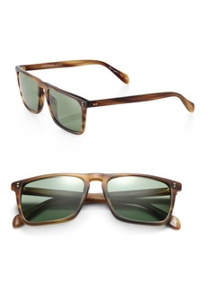 Oliver Peoples Bernardo Rectangle Sunglasses