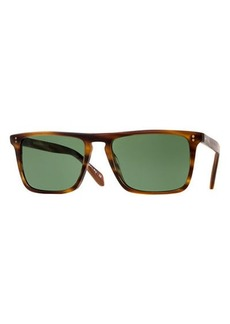 Oliver Peoples Bernardo Rectangular Sunglasses