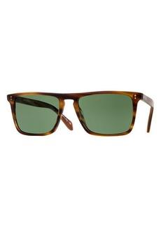 Oliver Peoples Bernardo Rectangular Sunglasses