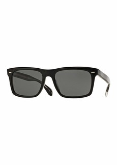 Oliver Peoples Brodsky 55 VFX+ Polarized Sunglasses