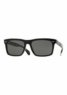 Oliver Peoples Brodsky 55 VFX+ Polarized Sunglasses