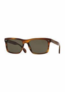 Oliver Peoples Brodsky VFX+ Polarized Sunglasses