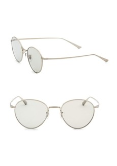 Oliver Peoples Brownstone 2 49MM Round Sunglasses
