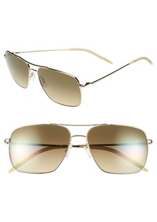 Oliver Peoples 'Clifton' 58mm Sunglasses