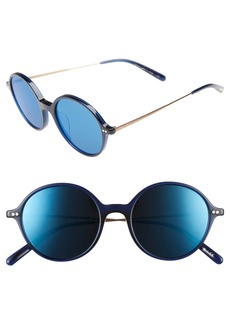 Oliver Peoples Corby 51mm Round Sunglasses