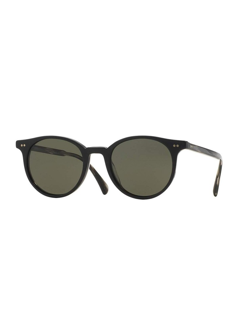 9f43eee1f4 Oliver Peoples Oliver Peoples Delray Sun 48 Polarized Sunglasses ...