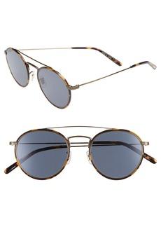 Oliver Peoples Ellice 50mm Round Sunglasses