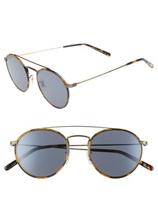 Oliver Peoples Ellice 50mm Round Sunglasses