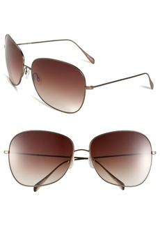Oliver Peoples Elsie 64mm Oversize Metal Sunglasses