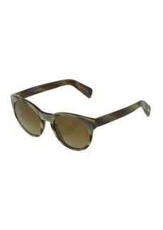 Oliver Peoples Emmy Marbled Cat-Eye Sunglasses