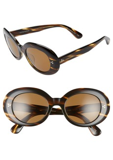 Oliver Peoples Erissa 52mm Round Sunglasses