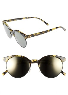 Oliver Peoples Ezelle 51mm Retro Sunglasses
